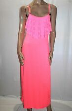 Unbranded Hot Pink Lace Night Gown Dress Size M BNWT #TK103