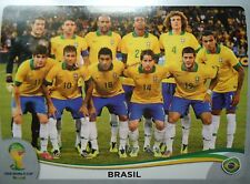Panini 33 team brasil fifa wm 2014 brasil