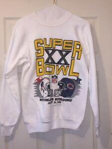 Vintage Chicago Bears Super Bowl XX Sweater Size Medium