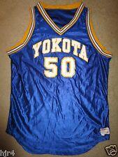 Yokota #50 US Air Force Japan Basketball Game Used Worn Wilson Jersey 46