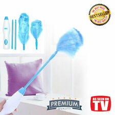 Electric Dust Cleaner Magic Duster Spin Feather Duster 360° Rotating Motor Brush