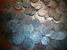 100 half crowns elizabeth and george large coins bulk lot 100 coins big lot