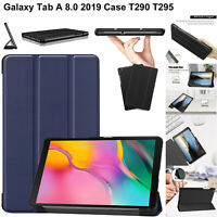 For Galaxy Tab A 8.0 (2019) T290 T295 Leather Magnetic Stand Case Smart Cover