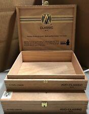"Cigar Boxes EMPTY 2 ""AVO Uvezian Classic #2"""