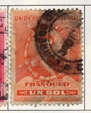 Peru 1905-21 Early Issue Fine Used 1S. 182278