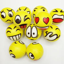 Smiley Face Anti Stress Reliever Ball ADHD Autism Mood Toy Squeeze Cute