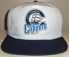 VINTAGE 90's COLUMBUS CLIPPERS MILB MINOR LEAGUE SNAPBACK CAP HAT RARE!