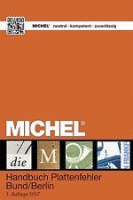 Michel Katalog Plattenfehler Bund/Berlin