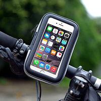 Bike Motorcycle Handlebar Mount Holder Waterproof Case Bag For iPhone 6 /6s Plus