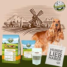Bellfor Hunde Trockenfutter Leckerlis Haut & Fell Pulver Cocker Spaniel Set