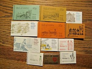 Great Britain Postal stamp booklets lot of 12 complete (A)
