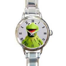Kermit The Frog The Muppets Italian Charm Watch Analog Quartz Battery Girls Gift