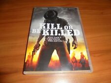 Kill or Be Killed (DVD, Widescreen 2016) Used Justin Meeks,Greg Kelly