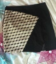 Bardot Cotton Blend Regular Size Mini Skirts for Women