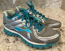 Brooks Adrenaline 9.5 M GTS 16 Women's Gray Blue Running Shoes