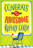 Awesome Report Card Designer Greetings Congratulations Card for Kids / Children