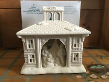 Partylite Victorian Manor Tealight House New in Org Box