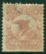 USA : 1864. Scott #RO137a Faulty. Catalog $100.00.