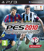 PES 2010 PRO EVOLUTION SOCCER PS3 SONY PLAYSTATION 3 NUOVO SIGILLATO ITALIANO