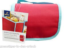 TCM Tchibo Kühltasche Lunchtasche Picknick Tasche rot mit Alu-Beschichtun Bagg