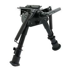 """Shooting Monopod 6"""" to 9"""" Adjustable Pivot / Rotating Spring Return Rifle Bipods"""