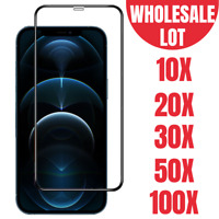 Wholesale Tempered Glass Lot For iPhone 12 Pro/12 Full Coverage Screen Protector