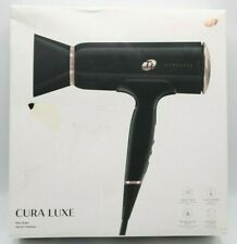 T3 Cura Luxe Hair Dryer 76840 Professional Ionic Black / Rose Gold Blow Dryer