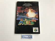 Notice - Super Mario 64 - Nintendo 64 N64 - PAL NEU4