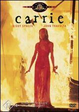 CARRIE (Sissy SPACEK John TRAVOLTA Piper LAURIE Amy IRVING) HORROR DVD Region 4