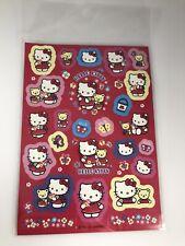 2012 Hello Kitty Sanrio Vintage Style Stickers Full Sheet