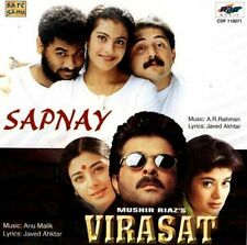 SAPNAY / VIRASAT - 2 FILM SONGS IN ONE CD - NEW BOLLYWOOD SARE GAMA CD