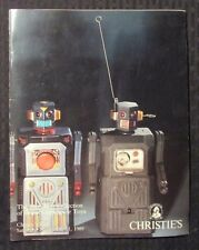 1989 Christie's ROBOTS & SPACE TOYS Auction Catalog VG+ 4.5