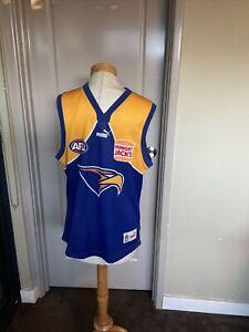 Great Afl West Coast Eagles Jersey Size L Vgc