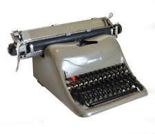 Vintage antique Olivetti Lexicon 80 1955 TYPEWRITER typing machine -e