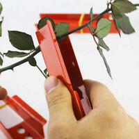 Useful Rose Thorn Remover Cutting Tool Leaves Stripping Flower Burrs Plier Metal