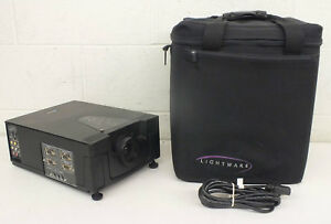 Boxlight MP-83i High-End LCD Projector w/Case GREAT Satisfaction Guaranteed LOOK