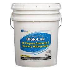 Rainguard Blok-lok Professional Grade Silane Siloxane Water Repellent 5 Gal RTU