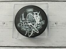 Luc Robitaille Signed Autographed 2014 Stanley Cup Champs LA Kings Hockey Puck a
