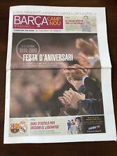 2009-10 BARCELONA VS REAL MADRID MATCH PROGRAMME