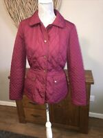 Monsoon Ladies Smart Size 12 Aubergine Plum Jacket Coat