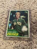 1981 - 1982 Topps Larry Bird Boston Celtics #4 Basketball Card (SEE PICS) 🔥🔥