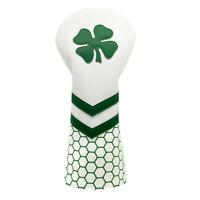 Green Lucky Clover Golf Headcover Driver Head Cover for Callaway Taylormade PXG