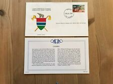 GAMBIA 1984 FDC FRANKLIN OLYMPIC GAMES LOS ANGELES ATHLETICS SPRINT 100 METRES