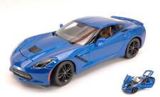 Corvette Stingray Z51 2014 Blue 1:18 Model 31677BL MAISTO