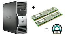 Kit 4 Go (2x2GB) Mémoire RAM Mise à niveau 4 Dell Precision 490 & 690 DIMM ECC 667 MHz