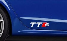 2x AUDI TTS Premium Side Decals Stickers, tt s, tt-s