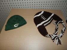Infant Green Bay Packers beanie hat 0-3 mos / football winter hat