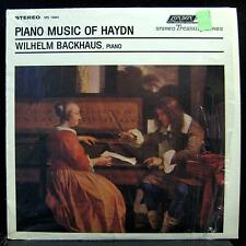 WILHELM BACKHAUS piano music of haydn LP Mint- STS.15041 UK Stereo Vinyl Record