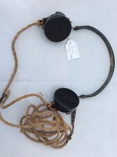 1940s Military DLR No1 4035A Bakelite Headset