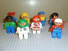 LEGO® DUPLO VILLE 8 X Figur MAMA MECHANIKER BAUARBEITER Polizist F218